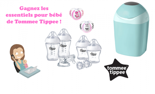 essentiels pour bebe tommee tippee