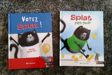 splat papa poule et votez splat