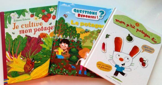 livres sur le potager enfants