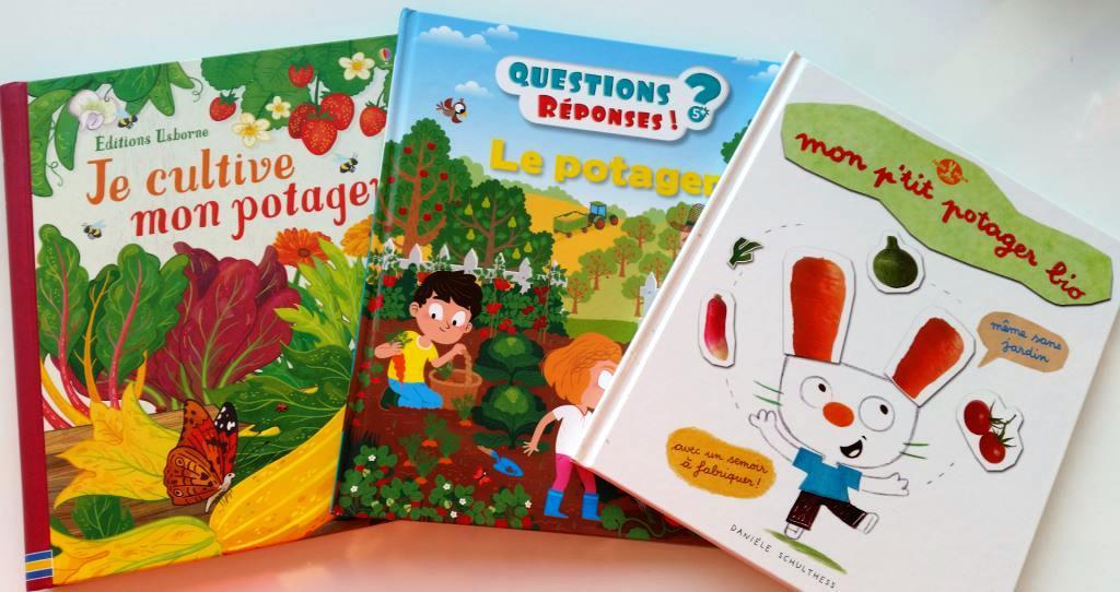 livres sur le potager pour les enfants mamans mais pas que. Black Bedroom Furniture Sets. Home Design Ideas