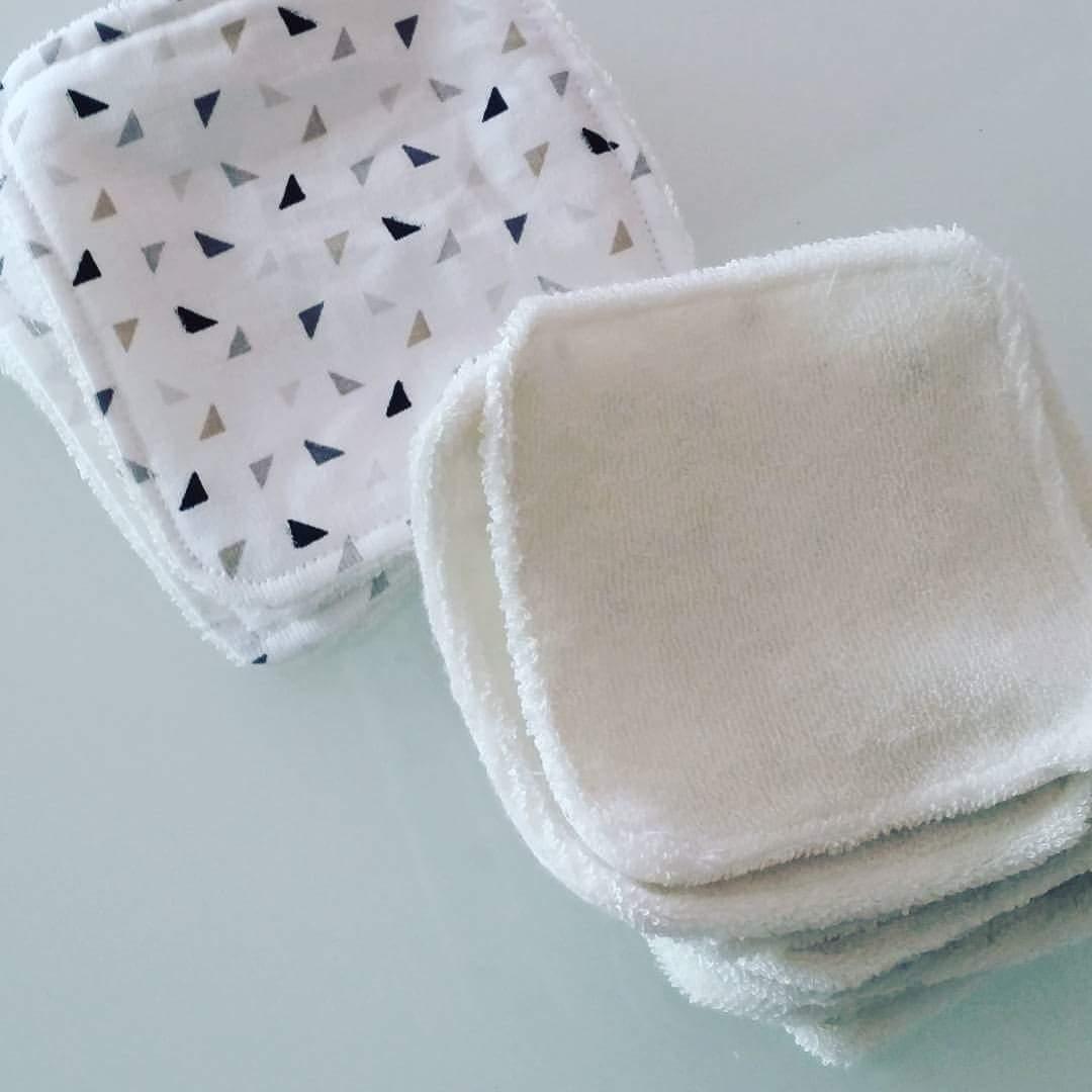 tuto lingettes d maquillantes lavables. Black Bedroom Furniture Sets. Home Design Ideas